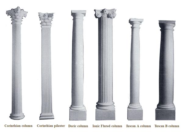 plaster-columns-doric-ionic-tuscan-corinthian-columns
